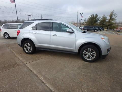 2013 Chevrolet Equinox for sale at BLACKWELL MOTORS INC in Farmington MO
