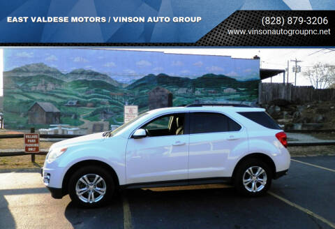 2012 Chevrolet Equinox for sale at EAST VALDESE MOTORS / VINSON AUTO GROUP in Valdese NC