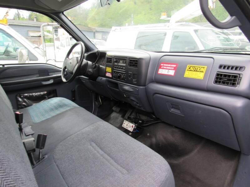 2000 Ford F-450 Super Duty Bucket Truck - Algona WA