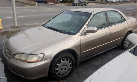 2001 Honda Accord for sale at Abingdon Auto Specialist Inc. in Abingdon VA