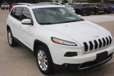 2015 Jeep Cherokee for sale at Sandusky Auto Sales in Sandusky MI