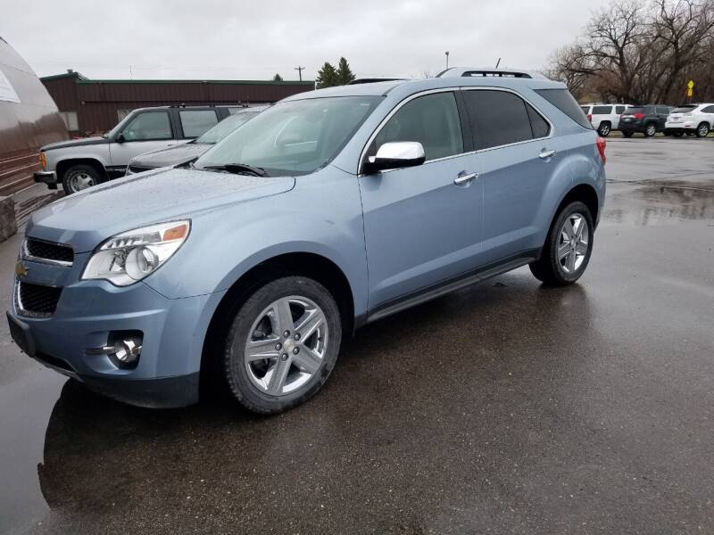 2015 Chevrolet Equinox for sale at Pro Auto Sales and Service in Ortonville MN