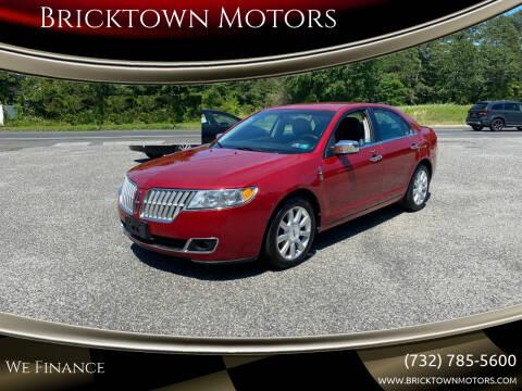 2010 Lincoln MKZ for sale at Bricktown Motors in Brick NJ