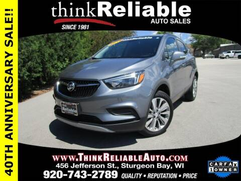 2019 Buick Encore for sale at RELIABLE AUTOMOBILE SALES, INC in Sturgeon Bay WI