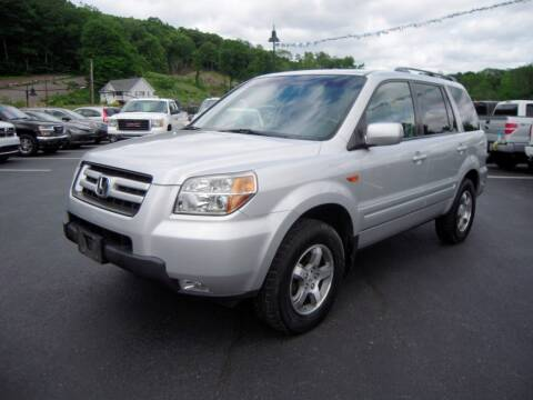 2008 Honda Pilot for sale at 1-2-3 AUTO SALES, LLC in Branchville NJ