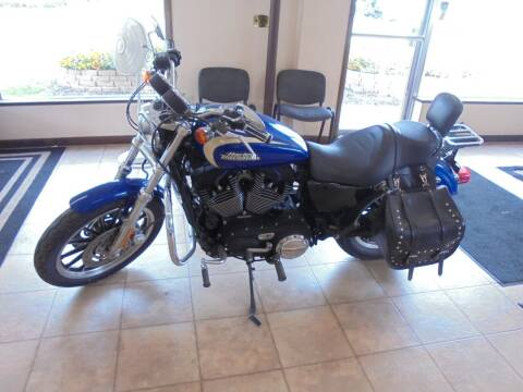 2008 HARLEY DAVIDSON SPORTSTER 1200 for sale at Eyler Auto Center Inc. in Rushville IL