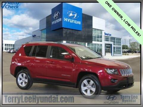 2017 Jeep Compass for sale at Terry Lee Hyundai in Noblesville IN