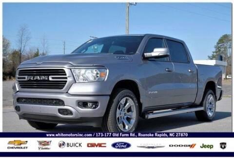 2021 RAM Ram Pickup 1500 for sale at WHITE MOTORS INC in Roanoke Rapids NC