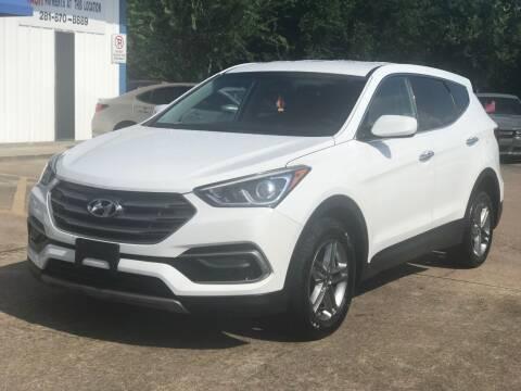 2017 Hyundai Santa Fe Sport for sale at Discount Auto Company in Houston TX