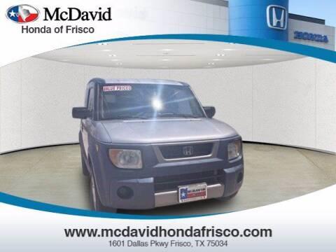 2005 Honda Element for sale at DAVID McDAVID HONDA OF IRVING in Irving TX