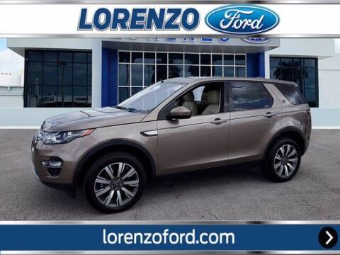2017 Land Rover Discovery Sport for sale at Lorenzo Ford in Homestead FL