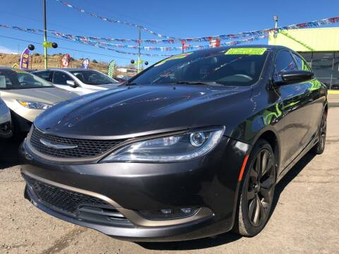 2017 Chrysler 200 for sale at 1st Quality Motors LLC in Gallup NM