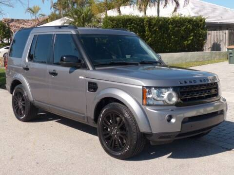 2013 Land Rover LR4 for sale at Lifetime Automotive Group in Pompano Beach FL