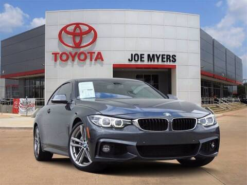 2018 BMW 4 Series for sale at Joe Myers Toyota PreOwned in Houston TX