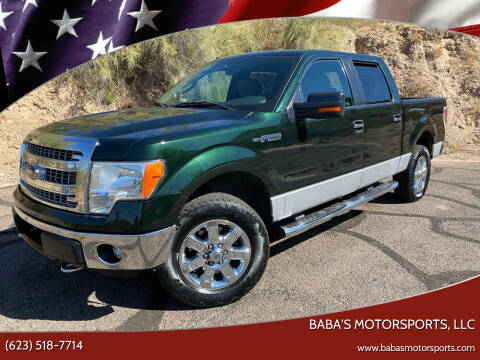 2013 Ford F-150 for sale at Baba's Motorsports, LLC in Phoenix AZ