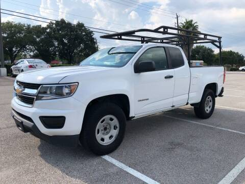 2017 Chevrolet Colorado for sale at T.S. IMPORTS INC in Houston TX