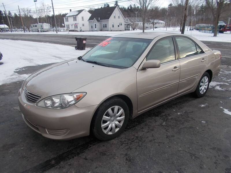 2005 Toyota Camry for sale at Dansville Radiator in Dansville NY