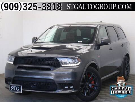 2018 Dodge Durango for sale at STG Auto Group in Montclair CA