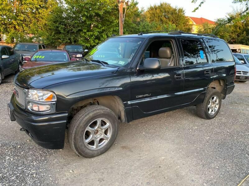 2003 GMC Yukon for sale at C.J. AUTO SALES llc. in San Antonio TX