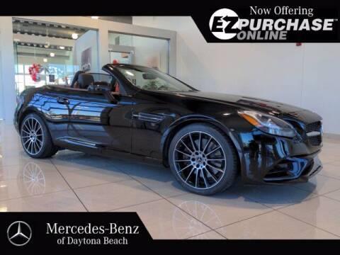 2018 Mercedes-Benz SLC for sale at Mercedes-Benz of Daytona Beach in Daytona Beach FL