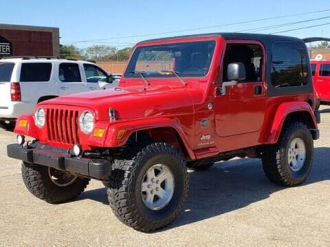 2005 Jeep Wrangler for sale at Tyler Car  & Truck Center in Tyler TX