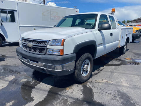 2005 Chevrolet Silverado 2500HD for sale at Dorn Brothers Truck and Auto Sales in Salem OR