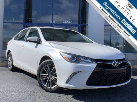 2017 Toyota Camry for sale at Capital Cadillac of Atlanta in Smyrna GA