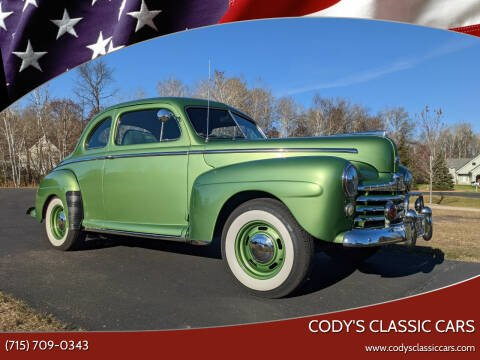 1948 Ford Super Deluxe for sale at Cody's Classic Cars in Stanley WI