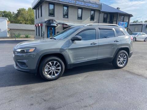 2020 Jeep Cherokee for sale at Sisson Pre-Owned in Uniontown PA