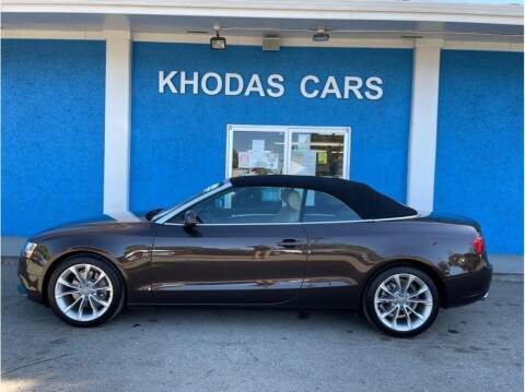 2014 Audi A5 for sale at Khodas Cars in Gilroy CA