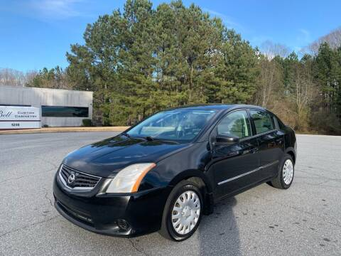 2012 Nissan Sentra for sale at Auto Deal Line in Alpharetta GA
