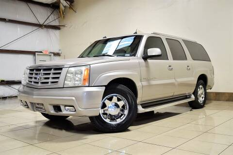 2004 Cadillac Escalade ESV for sale at ROADSTERS AUTO in Houston TX