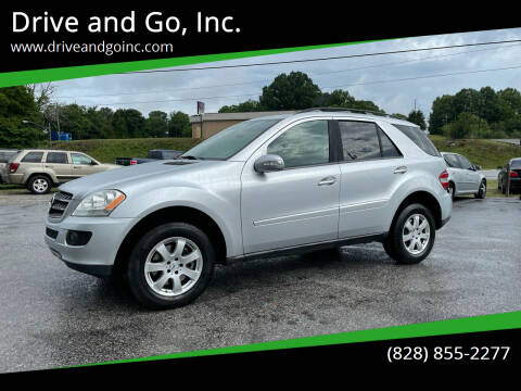 2007 Mercedes-Benz M-Class for sale at Drive and Go, Inc. in Hickory NC
