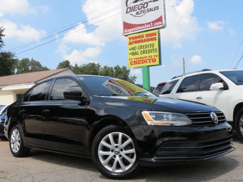 2015 Volkswagen Jetta for sale at Diego Auto Sales #1 in Gainesville GA