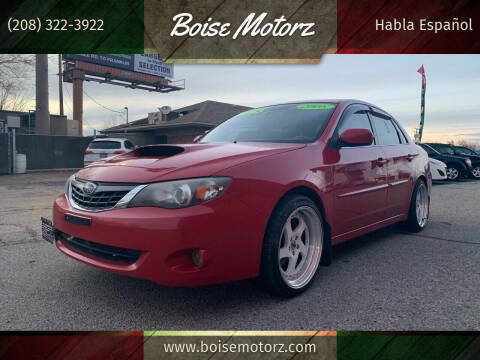2008 Subaru Impreza for sale at Boise Motorz in Boise ID
