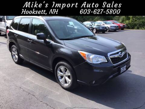 2014 Subaru Forester for sale at Mikes Import Auto Sales INC in Hooksett NH