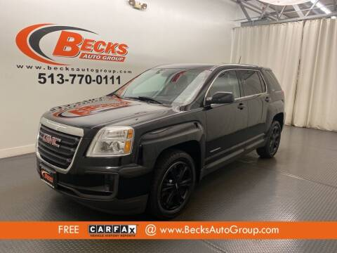 2017 GMC Terrain for sale at Becks Auto Group in Mason OH