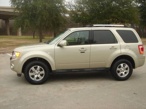 2011 Ford Escape for sale at ACH AutoHaus in Dallas TX