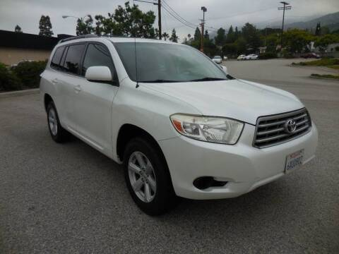 2008 Toyota Highlander for sale at ARAX AUTO SALES in Tujunga CA