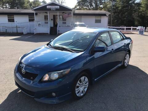 2009 Toyota Corolla for sale at CVC AUTO SALES in Durham NC