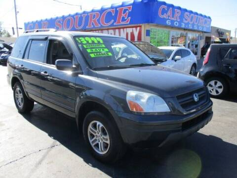 2004 Honda Pilot for sale at CAR SOURCE OKC - CAR ONE in Oklahoma City OK