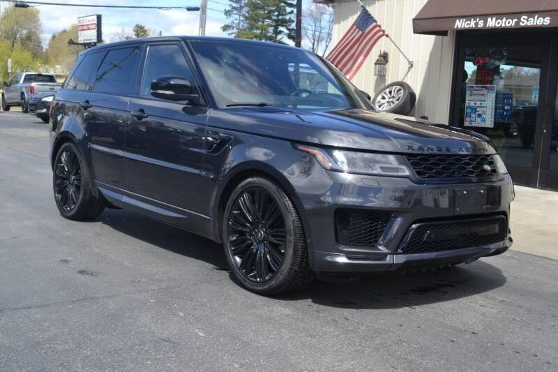 2018 Land Rover Range Rover Sport for sale at Nick's Motor Sales LLC in Kalkaska MI