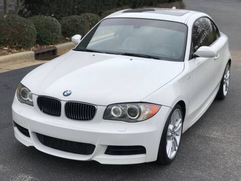 2009 BMW 1 Series for sale at Weaver Motorsports Inc in Cary NC