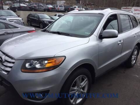 2011 Hyundai Santa Fe for sale at J & M Automotive in Naugatuck CT