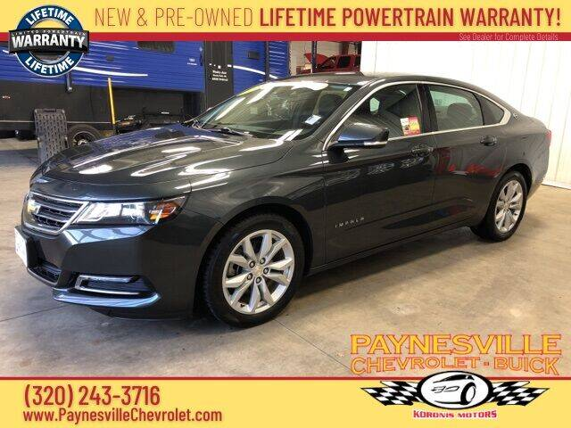 2018 Chevrolet Impala for sale at Paynesville Chevrolet - Buick in Paynesville MN