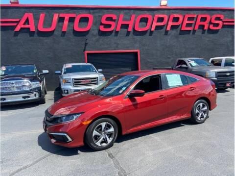 2019 Honda Civic for sale at AUTO SHOPPERS LLC in Yakima WA