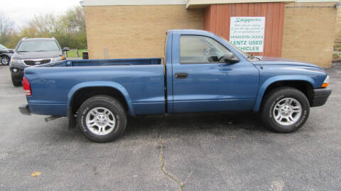 2004 Dodge Dakota for sale at LENTZ USED VEHICLES INC in Waldo WI