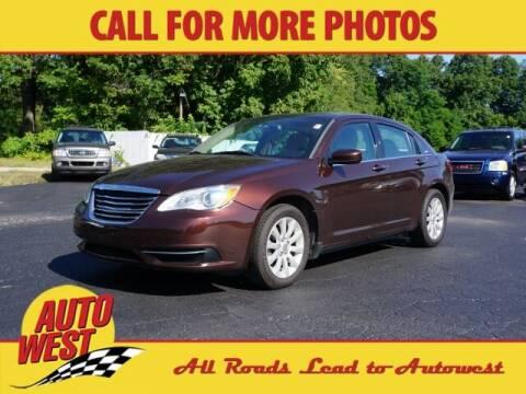 2013 Chrysler 200 for sale at Autowest Allegan in Allegan MI