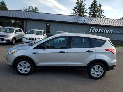 2015 Ford Escape for sale at ROSSTEN AUTO SALES in Grand Forks ND
