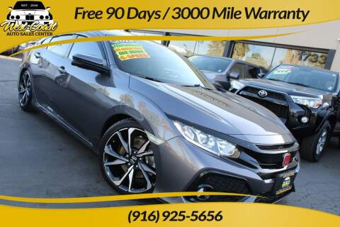 2018 Honda Civic for sale at West Coast Auto Sales Center in Sacramento CA